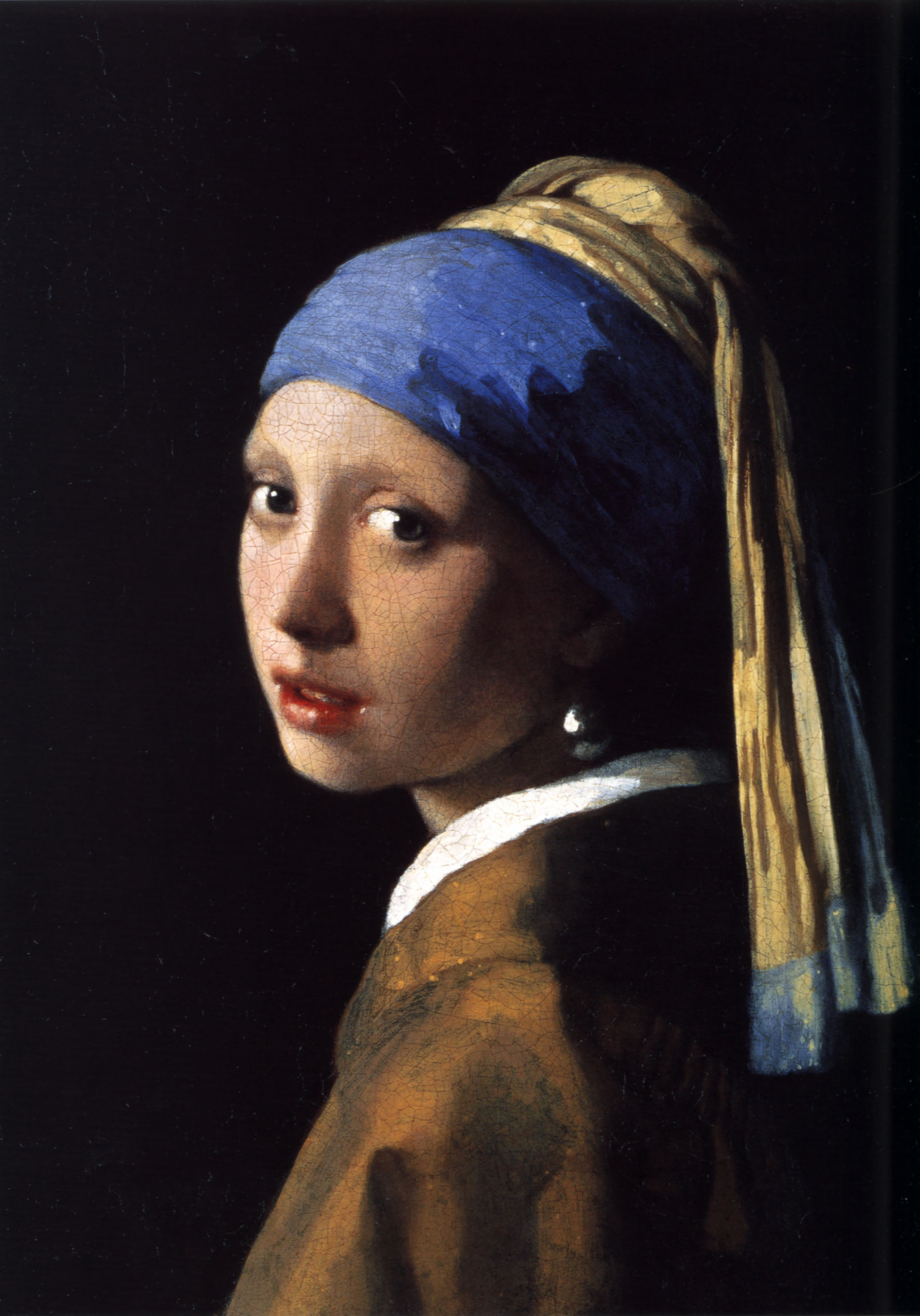 Girl with Pearl Earring Painting